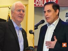 senate debate: cornyn positive amid nasty attacks from opponent